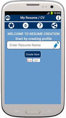 Myresume Builder My Resume Builder Cv Free Jobs Android Apps On Google Play