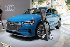 audi electric suv 2020 2020 audi etron electric suv at the 2019 new york auto