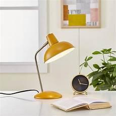 Cool Bedroom Ls Light Society Retro Hylight 15 In Mustard Yellow Desk