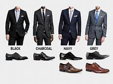 Best Shoes For Light Grey Suit How To Pick The Perfect Pair Of Shoes For Every Colour