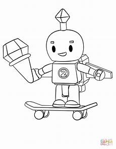 Supercoloring Robot Roblox Robot Coloring Page Free Printable Coloring Pages