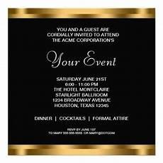 Corporate Invitation Card Format Invites Idea Corporate Party Invitation Dinner
