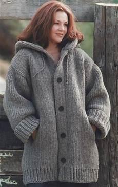 knit danbury hooded sweater jacket in brand wool
