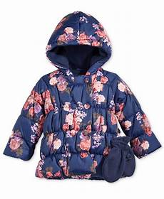 rothschild infant coats s rothschild baby 2 pc floral print puffer jacket
