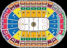 Td Garden Hockey Seating Chart Td Garden Boston Ma Seating Chart View