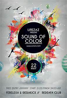 Flyer Color Sound Of Color Flyer Templates By Graphicplan On Deviantart