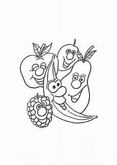 Ausmalbilder Lustiges Obst Ausmalbilder Lustige Fr 252 Chte Obst Und Gem 252 Se Malvorlagen