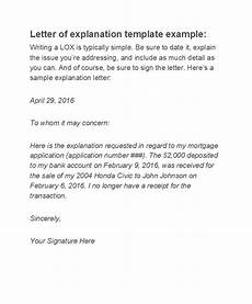 Letter Of Explanation Mortgage 48 Letters Of Explanation Templates Mortgage Derogatory