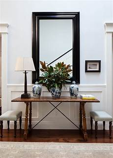 foyer mirrors simple entry table ruthie sommers home