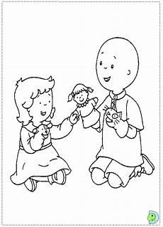 malvorlagen fur kinder ausmalbilder caillou kostenlos