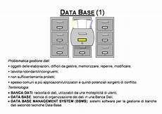 dispensa di informatica informatica database dispensa dispense