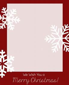 Card Templetes Free Christmas Card Templates Crazy Little Projects