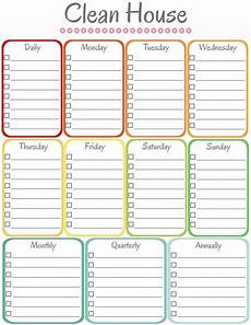 House Chores Schedule Home Management Binder Cleaning Schedule With Images