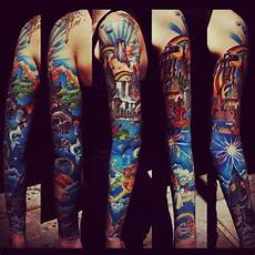 disney sleeve 138 amazing disney tattoos photos