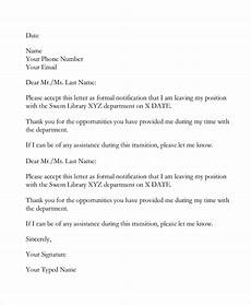 Resignation Email Sample Free 6 Sample Email Resignation Letter Templates In Pdf