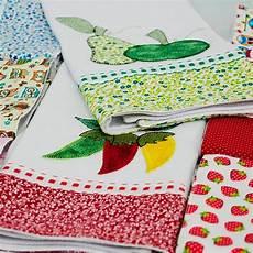 patchwork pano de prato pano de prato em patchwork bordado no atacado 20 unidades