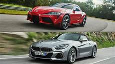 2020 toyota supra vs bmw z4 reviews the wheel 2020 toyota supra vs 2020 bmw