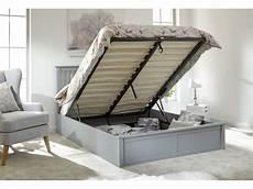 modern como single 3ft 90cm wooden grey lift storage