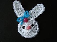 crochet applique how to crochet a bunny applique