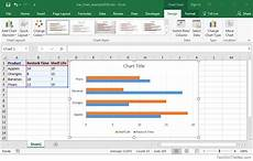 Excel 2013 Stacked Bar Chart Ms Excel 2016 How To Create A Bar Chart