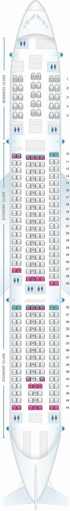 Airbus A380 Seating Chart Asiana Seat Map Asiana Airlines Airbus A330 300 290pax Seatmaestro