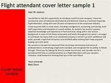 Flight Attendant Cover Letter Samples Flight Attendant Cover Letter