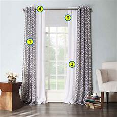 Drapes Window Treatments Decorating Windows Creating Layered Window Treatments