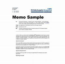 Memo Examples Business Memo Templates 40 Memo Format Samples In Word