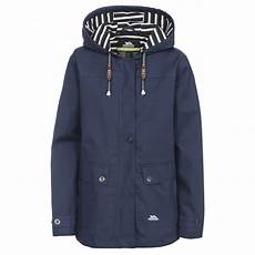 tresspass coats trespass womens seawater waterproof jacket warwickshire
