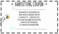 babysitting coupon templates 13 babysitting voucher templates psd ai indesign