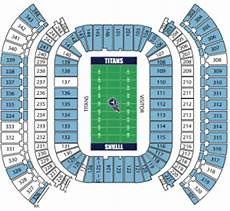 Titans Interactive Seating Chart Tennessee Titans Tickets Preferred Seats