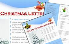 Christmas Family Newsletter Templates Free Free Christmas Newsletter Templates Include When Sending