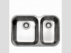 """One and Half Sink Essential U   26.5 x 17""""   Stainless Steel   RONA"""