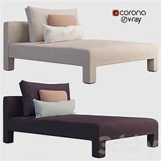 Sofa Style Daybed 3d Image by 3d Models Other Soft Seating Mod Daybed In 2020 Soft