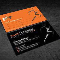 Physical Therapist Business Cards Physical Therapy Business Card Design For Sports Medicine