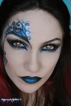 blue secret blue masquerade makeup tutorial