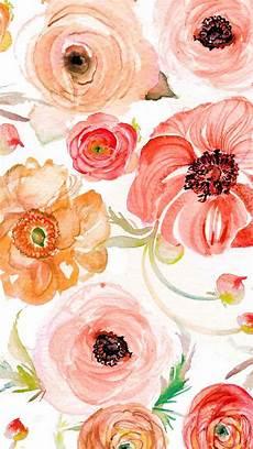 Watercolor Flower Wallpaper Iphone by Watercolor Wallpaper And Lock Screen Downloadsmomental Designs