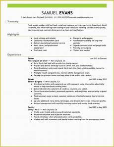 Quick Resume Free Quick Resume Template Free Of Quick Resume Template