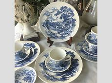 Wedgwood Counrtyside Dinnerware Set Service for 4 made in