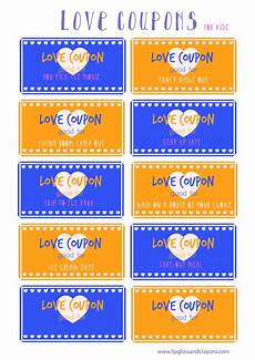 Coupons For Love Coupons For Kids Lipgloss And Crayons