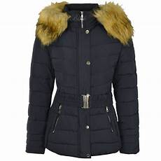 hooded winter coats womens plus size fur hooded quilted padded winter