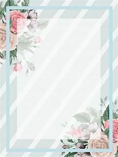 Background Simple Elegant Autumn Floral Minimalistic Light Blue Background En 2020