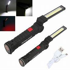 Magnetic Mechanic Light Rechargeable Work Light Led Cob Magnetic Car Garage