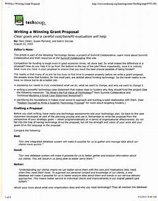 How To Write Grant Proposal Writing Winning Grant Proposals