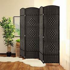 jostyle room divider with woven design 4 panel