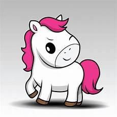 desenho cartoon white baby with pink hair vector