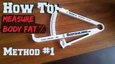 Caliper Body Fat How To Measure Body Fat Percentage Method 1 Body Fat