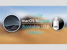 Create macOS Mojave Bootable USB Installer UniBeast   wikigain