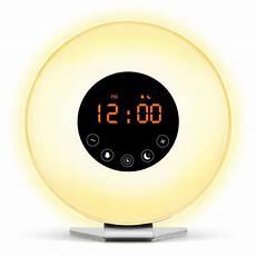 Wake Up Light Lbell Alarm Clock Sunrise Alarm Clock Digital Led Time Display Morning Wake