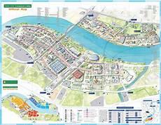 Map Of Shanghai World Expo 2010 China